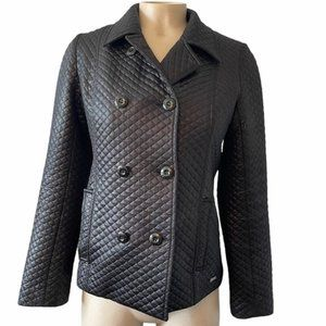 GUESS Vintage Quilted Coated Motorcycle Jacket S